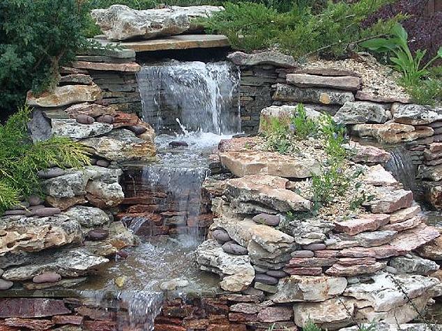 Натуральные камни в ландшафтном дизайне
